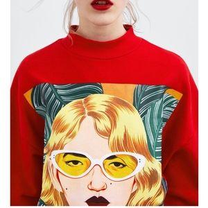 Zara Women in Art x Bijou Karman Sweater
